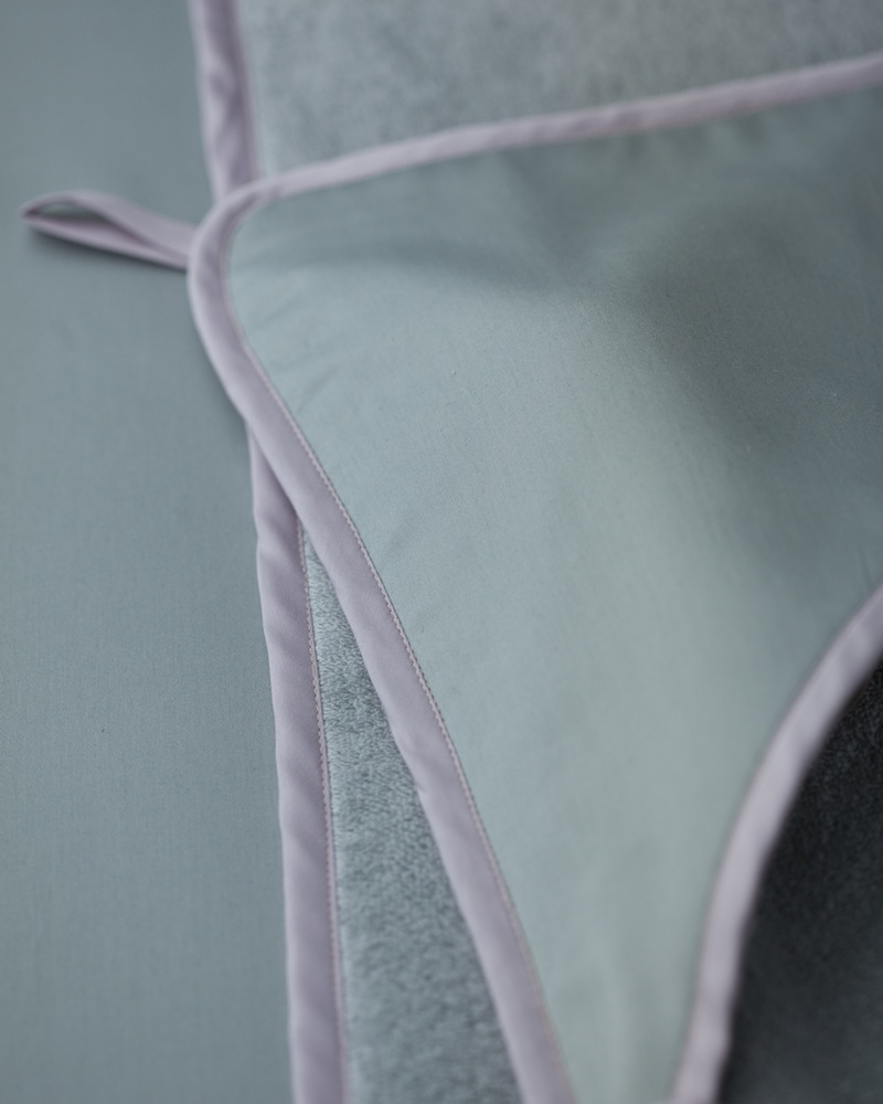 Банный уголок с капюшоном и полотенце Bon Ton Irish - fioridivenezia.ru