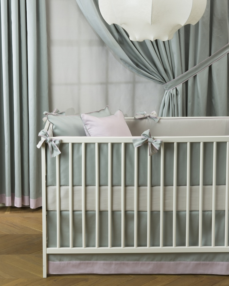 Юбка для кроватки Bon Ton Irish - состав хлопок 100% - fioridivenezia.ru