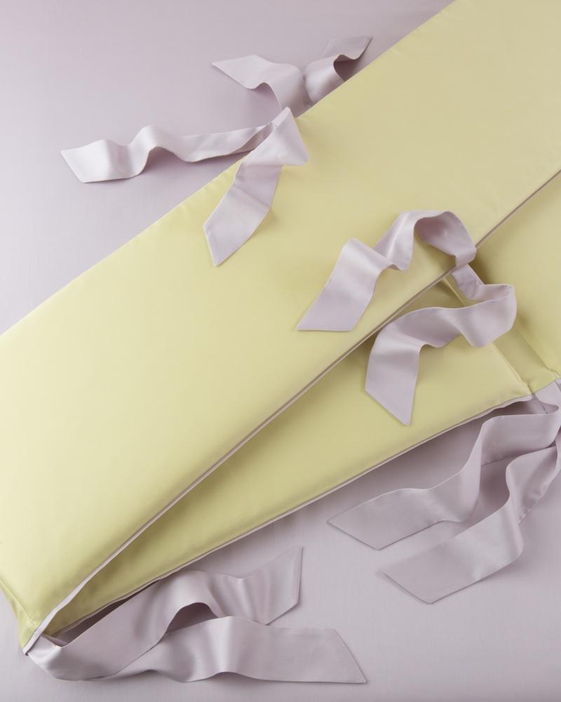 Бортик в детскую кроватку Candy Lemon, состав хлопок 100% - fioridivenezia.ru