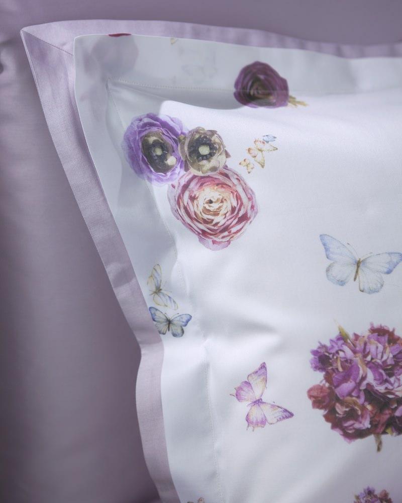 Комплект белья Flowers Lilla - наволочка - fioridivenezia.ru