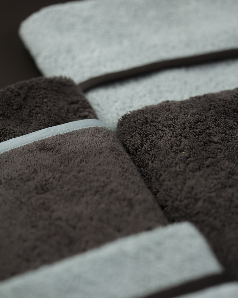 Набор махровых полотенец Kelly Chocolat - fioridivenezia.ru