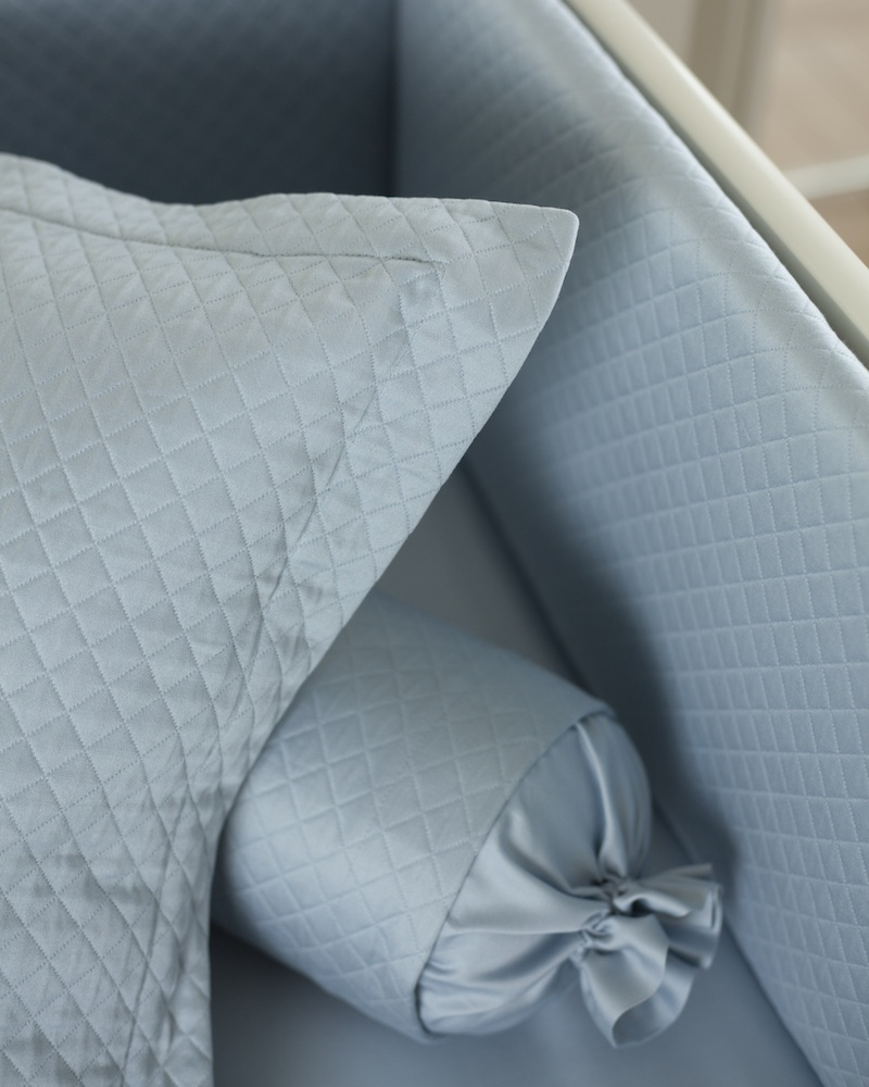 Декоративная подушка и валик Solo Blu - fioridivenezia.ru
