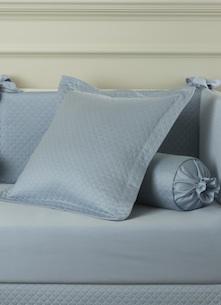 Декоративная подушка и валик Solo Blu