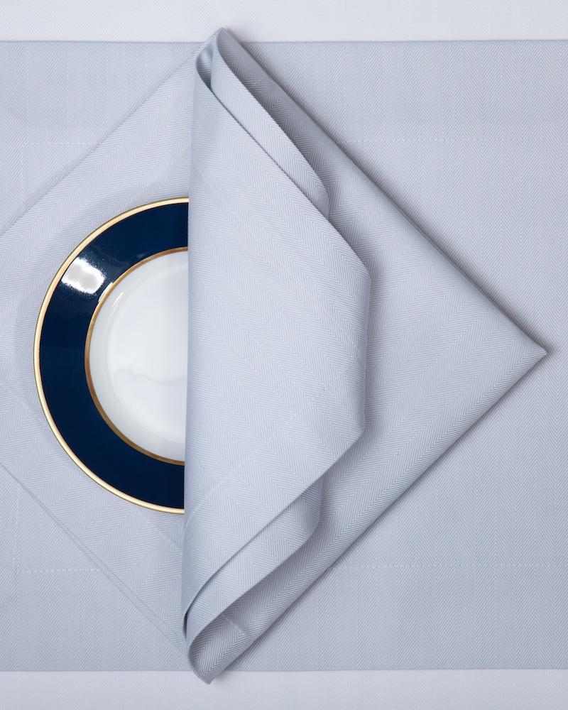 Салфетка Roma, цвет Griggio acciaio, состав хлопок 100%