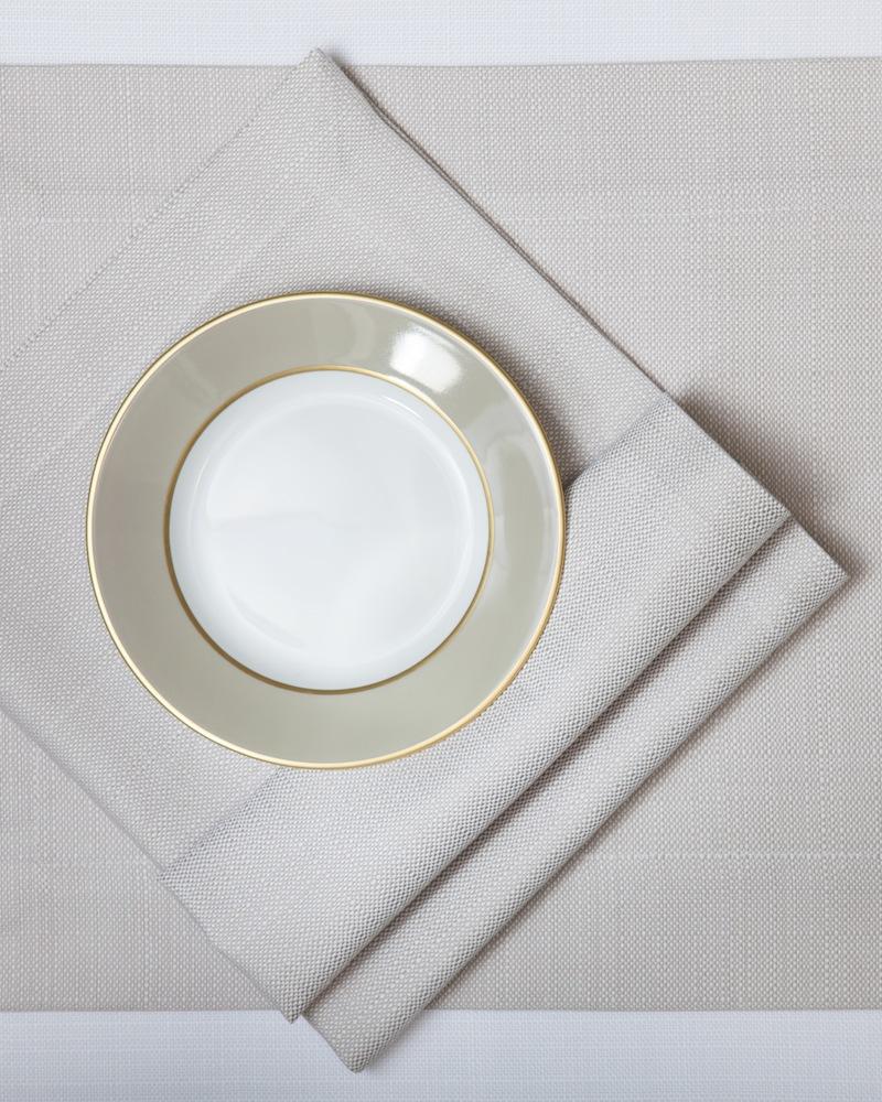 Подстановочная салфетка из ткани Salerno - цвет Perla, состав хлопок 100%