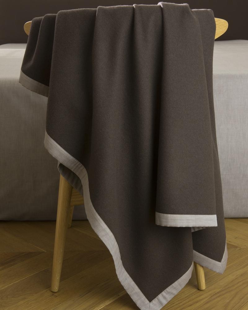 Плед из тибетской шерсти Lana Form - fioridivenezia.ru