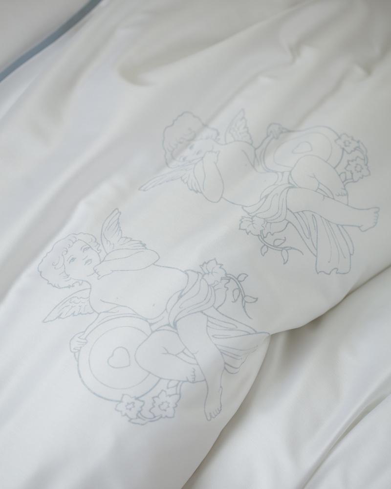 Комплект детского постельного белья Angel Boy blu - fioridivenezia.ru