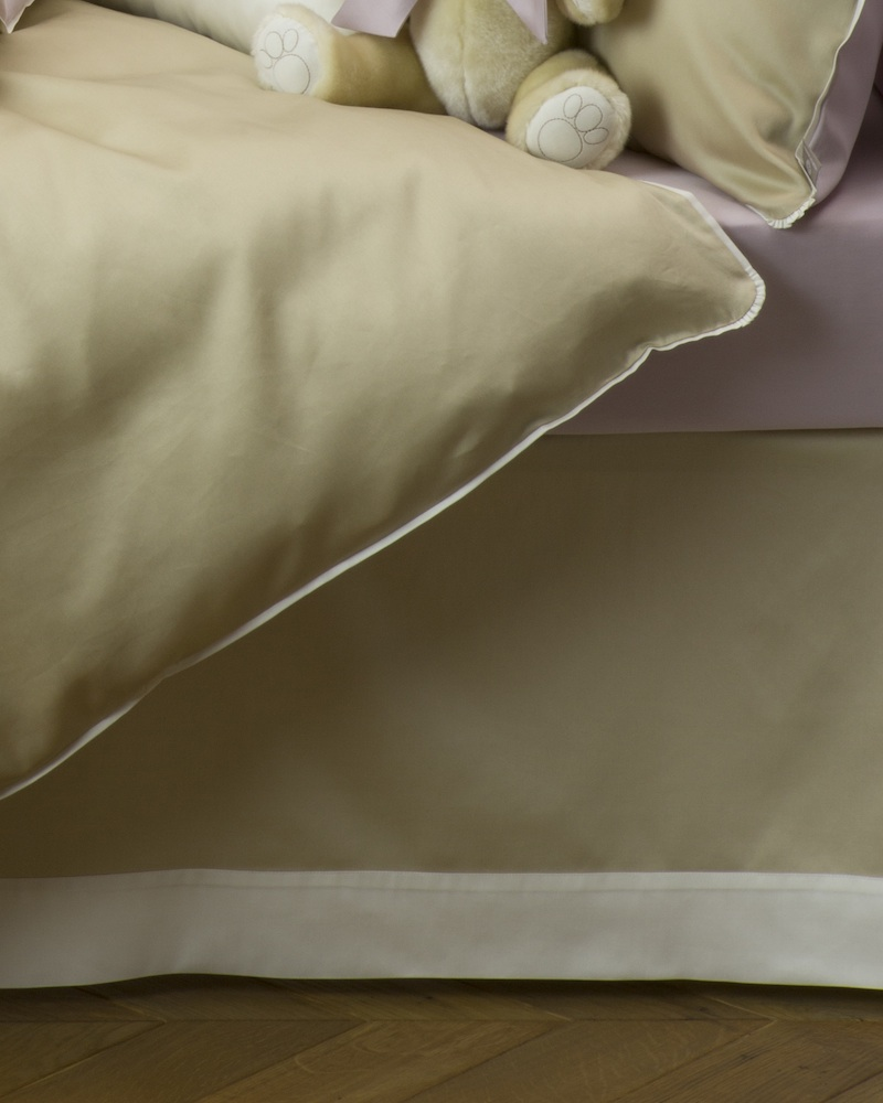 Юбка для кроватки Bon Ton Sable - состав хлопок 100% - fioridivenezia.ru