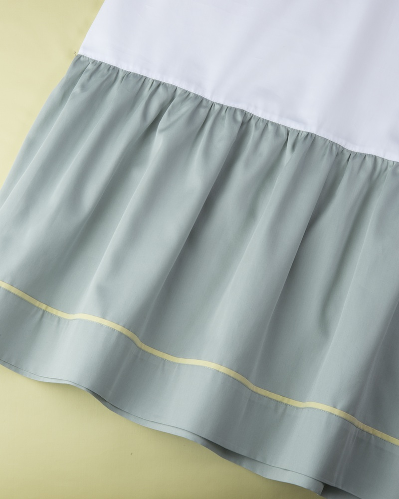 Юбка для кроватки Candy Mint - состав хлопок 100% - fioridivenezia.ru