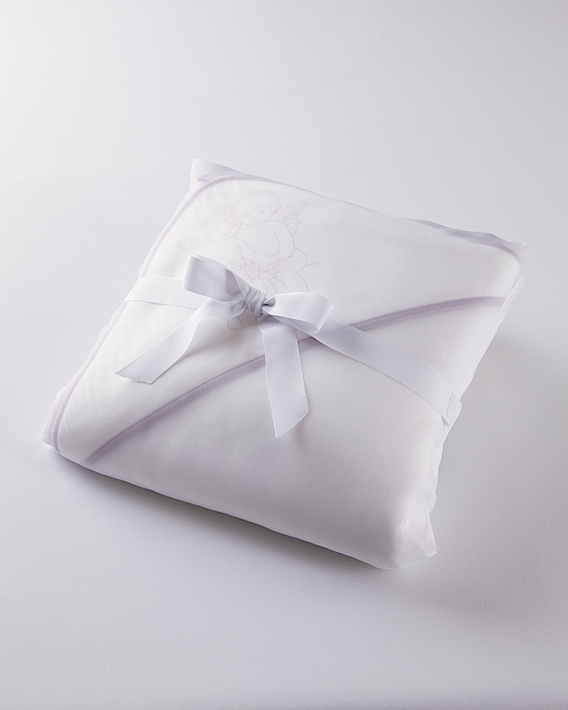 Банный комплект Angel Love Lilla, махровый уголок и полотенца в упаковке - fioridivenezia.ru