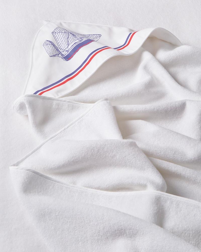 Банный комплект для малыша Sea Blu - махровый уголок - fioridivenezia.ru