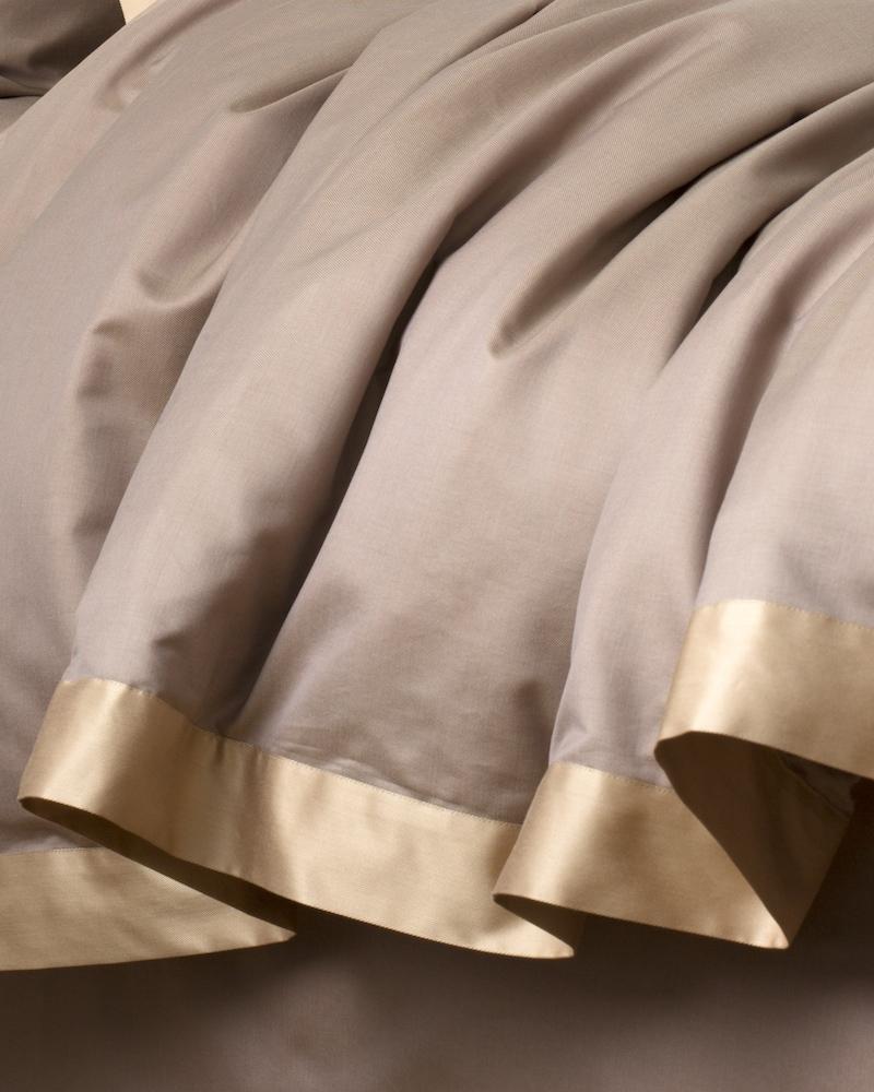 Комплект элитного постельного белья San Marco Cacao - пододеяльник - fioridivenezia.ru