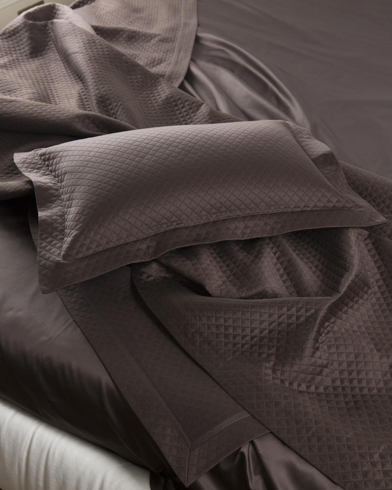 Покрывало с подушкой Mosaico Ontano - fioridivenezia.ru