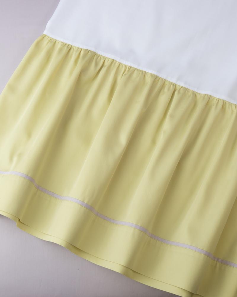 Юбка для кроватки Candy Lemon - fioridivenezia.ru