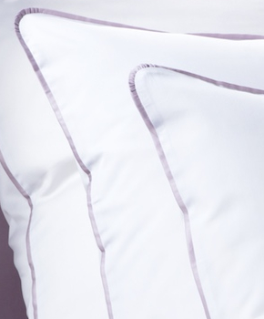 Наволочка - Комплект постельного белья Carmini, цвет Incenso/сирень, состав хлопок 100%