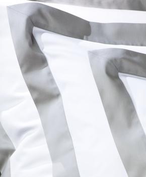 Наволочка - Комплект постельного белья Foscari, цвет Dolomia/жемчуг, состав хлопок 100%