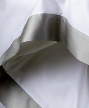 Пододеяльник - Комплект постельного белья Foscari, цвет Dolomia/жемчуг, состав хлопок 100%