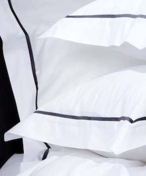 Наволочка - Комплект постельного белья Briati, цвет Grisaglia/графит, состав хлопок 100%