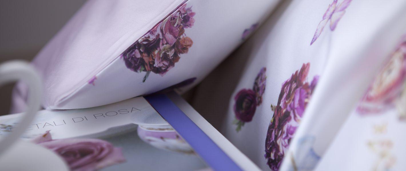 Комплект подросткового белья Flowers Lilla - fioridivenezia.ru