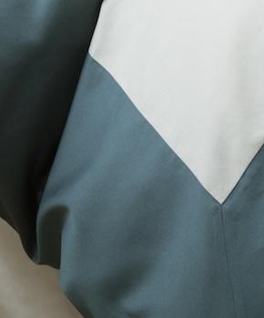 Пододеяльник - Комплект постельного белья Ariano, цвет Mare, состав хлопок 100%