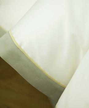 Пододеяльник - Комплект постельного белья Clemente, цвет Oliva, состав хлопок 100%
