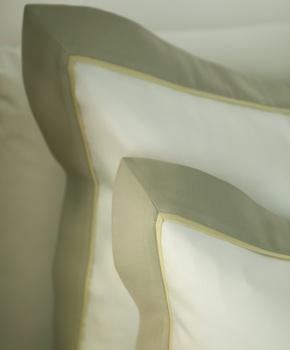 Наволочка - Комплект постельного белья Clemente, цвет Oliva, состав хлопок 100%