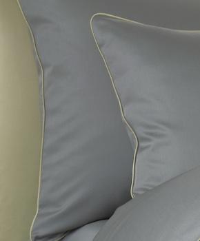 Наволочка - Комплект постельного белья Lorenzo, цвет Griggio, состав хлопок 100%