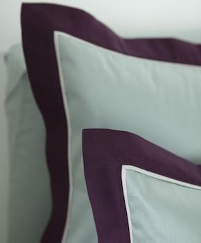 Наволочка - Комплект постельного белья Murano, цвет Rubino, состав хлопок 100%