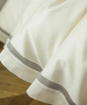 Пододеяльник - Комплект постельного белья Cristina, цвет Panna, состав хлопок 100%