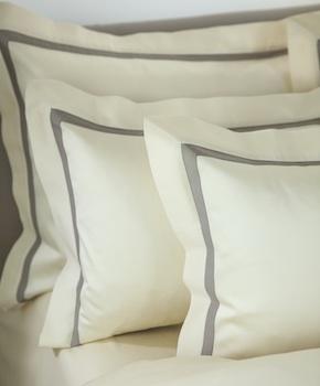 Наволочка - Комплект постельного белья Cristina, цвет Panna, состав хлопок 100%