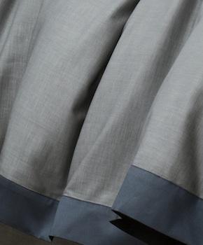 Пододеяльник - Комплект постельного белья Marco, цвет Blu notte, состав хлопок 100%
