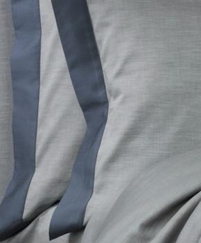 Наволочка - Комплект постельного белья Marco, цвет Blu notte, состав хлопок 100%