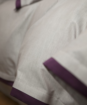 Пододеяльник - Комплект постельного белья Samuele, цвет Vino, состав хлопок 100%