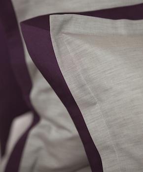 Наволочка - Комплект постельного белья Samuele, цвет Vino, состав хлопок 100%
