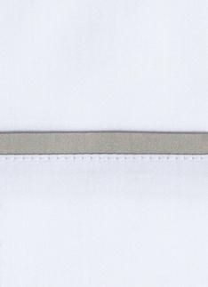 Образец ткани для пошива постельного белья - модель Briati - цвет Dolomia/жемчуг - египетский хлопок 100%