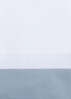 Образец ткани для пошива постельного белья - модель Canonica - цвет Sion/серо-голубой - египетский хлопок 100%