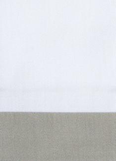 Образец ткани для пошива постельного белья - модель Комплект постельного белья Canonica, цвет Dolomia/жемчуг, состав хлопок 100%