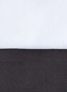 Образец ткани для пошива постельного белья - модель Foscari- цвет Grisaglia/графит - египетский хлопок 100%