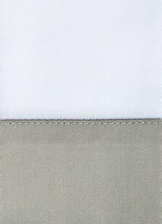 Образец ткани для пошива постельного белья - модель Foscari - цвет Dolomia/жемчуг - египетский хлопок 100%