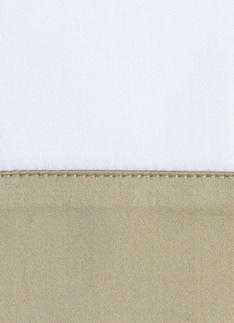 Образец ткани для пошива постельного белья - модель Foscari- цвет Sable/песок - египетский хлопок 100%