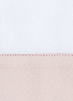 Образец ткани для пошива постельного белья - модель Комплект постельного белья Foscari, цвет Rosemary/роза, состав хлопок 100%
