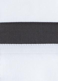 Образец ткани для пошива постельного белья - модель San Antonio- цвет grisaglia/графит - египетский хлопок 100%