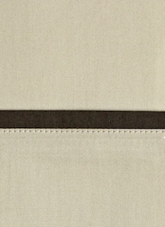 Образец ткани для пошива постельного белья - модель Комплект постельного белья Andrea, цвет Sable, состав хлопок 100%