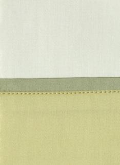 Образец ткани для пошива постельного белья - модель Комплект постельного белья Clemente, цвет Lime, состав хлопок 100%