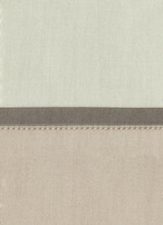 Образец ткани для пошива постельного белья - модель Комплект постельного белья Clemente, цвет Panna, состав хлопок 100%