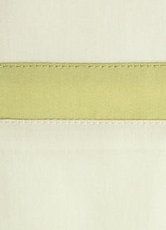 Образец ткани для пошива постельного белья - модель Cristina - цвет Lime - египетский хлопок 100%