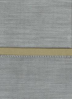Образец ткани для пошива постельного белья - модель Lio - цвет Caramel - египетский хлопок 100%
