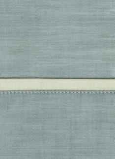 Образец ткани для пошива постельного белья - модель Lio - цвет Craie - египетский хлопок 100%