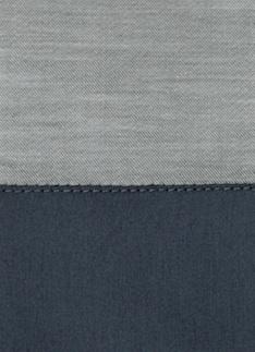 Образец ткани для пошива постельного белья - модель Marco, цвет Blu notte, состав хлопок 100%