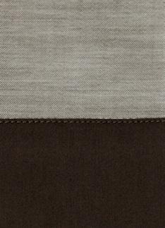 Образец ткани для пошива постельного белья - модель Marco, цвет Chocolat, состав хлопок 100%